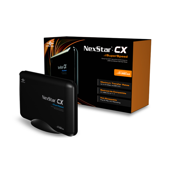"VANTEC NEXSTAR CX USB 3.0 3.5"" SATA LAPTOP HARD DRIVE ENCLOSURE"